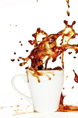 Photograph - Coffee Splash by Aldra