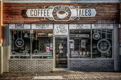 Photograph - Coffee Tales by Chris Fletcher