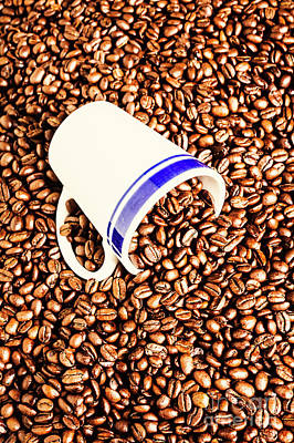 Food And Beverage Royalty-Free and Rights-Managed Images - Coffee tips by Jorgo Photography - Wall Art Gallery