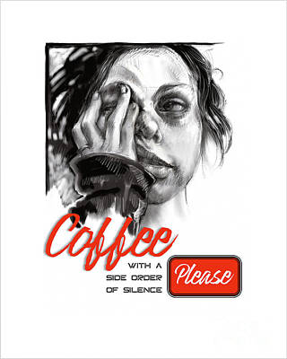 Coffee With A Side Art Print