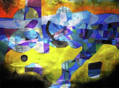 Digital Art - Cold Evening Wind by Mark Jordan
