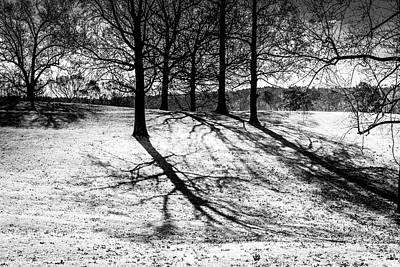 Photograph - Cold Morning Shadows by Doug Camara
