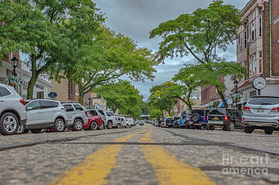 Photograph - Cold Spring Harbor St by Roman Gomez