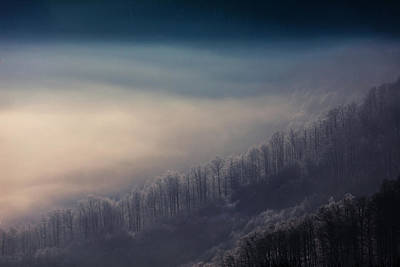 Mountain Royalty-Free and Rights-Managed Images - Cold Touch by Evgeni Dinev