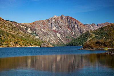 Photograph - Coldwater Lake Reflection by Al Hann