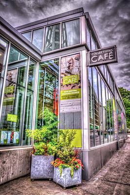 Photograph - Collections Cafe At Seattle Center by Spencer McDonald