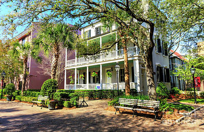 Photograph - College Of Charleston Style by John Rizzuto