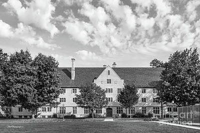Photograph - College Of Wooster Douglass Hall by University Icons