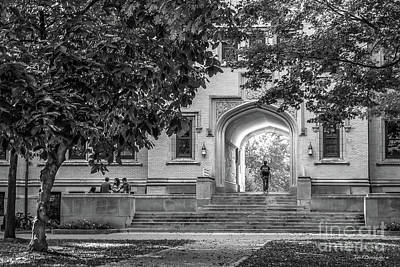 Photograph - College Of Wooster Kauke Arch by University Icons