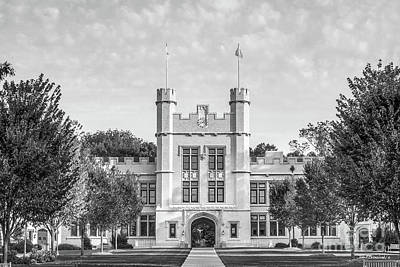 Photograph - College Of Wooster Kauke Hall by University Icons