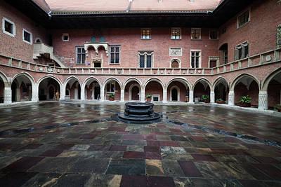 Courtyard Gallery Photograph - Collegium Maius Of Jagiellonian University In Krakow by Artur Bogacki