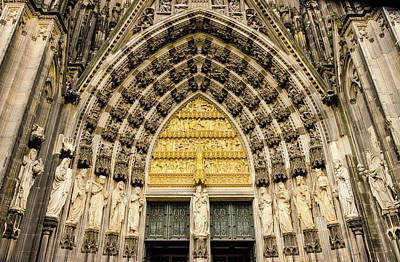 Photograph - Cologne Cathedral by Paul Croll