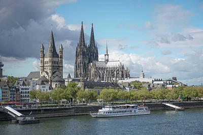 Photograph - Cologne, Germany by Jim Mathis