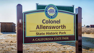 Photograph - Colonel Allen Allensworth State Park by Gene Parks