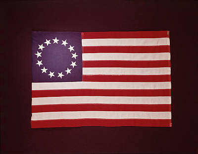 Colonial Us Flag Art Print by H. Armstrong Roberts