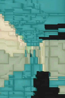 Digital Art - Colony One by David Hansen
