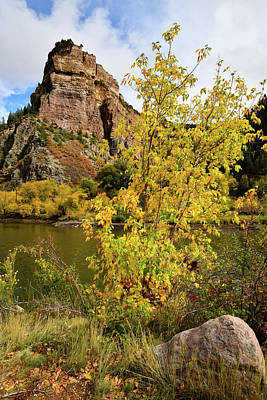 Photograph - Color Comes To Glenwood Canyon by Ray Mathis