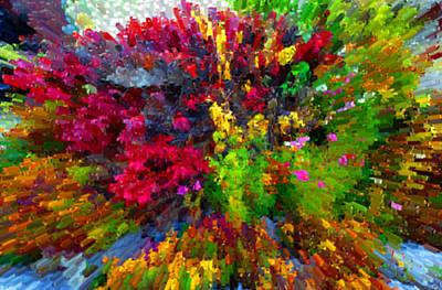 Jonny Jelinek Royalty-Free and Rights-Managed Images - Color Explosion by Jonny Jelinek