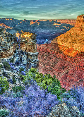 Photograph - Color Me Beautiful Grand Canyon National Park Arizona Art by Reid Callaway