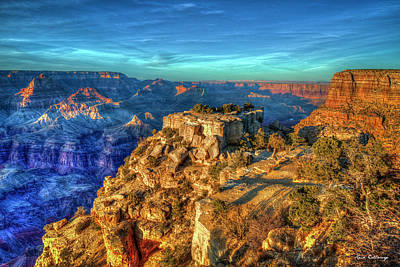 Photograph - Color Me Majestic Grand Canyon National Park Sunrise Shadows Arizona Art by Reid Callaway