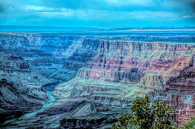 Digital Art - Color Mix Grand Canyon  by Chuck Kuhn