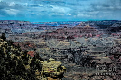 Photograph - Color Tones Grand Canyon National Park  by Chuck Kuhn