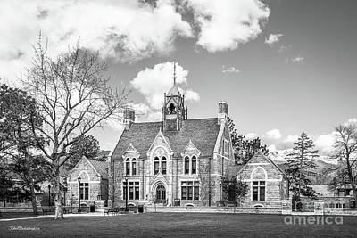 Photograph - Colorado College Cutler Hall Side View by University Icons