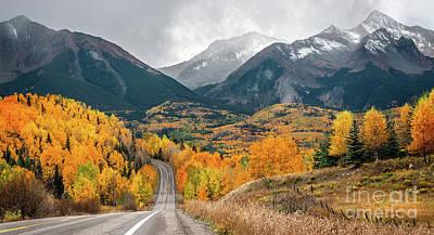 Photograph - Colorado Hwy 145 by Susan Warren