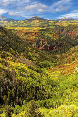 Photograph - Colorado Mountain Fall Landscape by Ronda Kimbrow