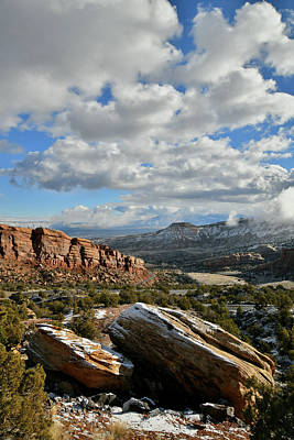 Photograph - Colorado National Monument's East Entrance by Ray Mathis