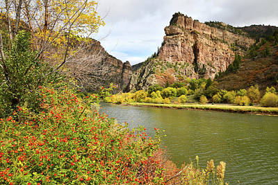 Photograph - Colorado River At Hanging Lake Rest Stop by Ray Mathis