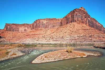 Photograph - Colorado River At Salt Wash by Andy Crawford