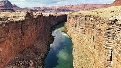 Photograph - Colorado River by Mid Atlantic Aerial