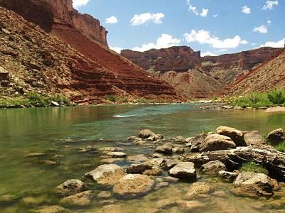 Photograph - Colorado River by Walt Sterneman