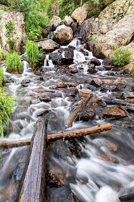 Photograph - Colorado Rocky Mountain Riverscape by Gregory Ballos