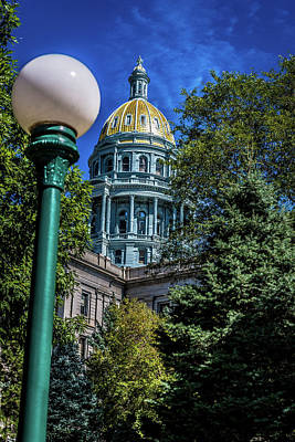 Photograph - Colorado State Capital by James L Bartlett