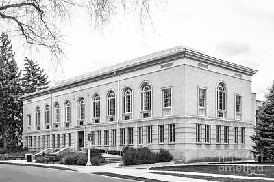 Photograph - Colorado State University Library by University Icons
