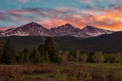 Photograph - Colorado Sunset by Darlene Bushue