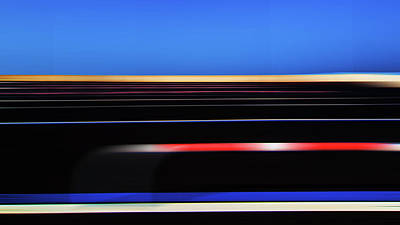 Photograph - Colored Parallelism by Jorg Becker