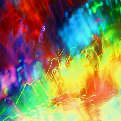 Photograph - Colorful Abstract by Merrymoonmary