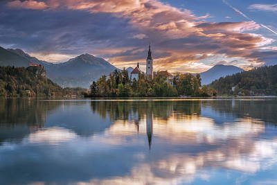 Photograph - Colorful Bled by Elias Pentikis