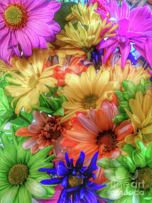 Photograph - Colorful Bouquet by Tony Baca