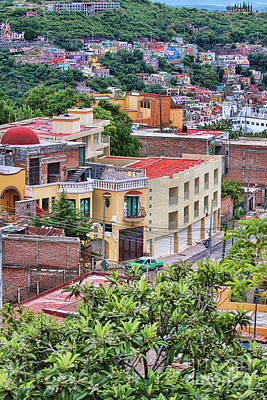 Photograph - Colorful Buildings In Guanajuato, Mexico by Tatiana Travelways