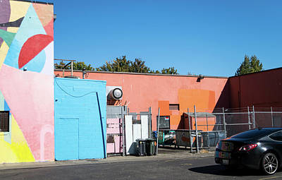 Photograph - Colorful Cardboard Corral by Tom Cochran