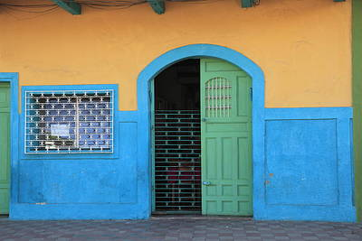 Photograph - Colorful Colonial Architecture by Wendy Connett / Robertharding