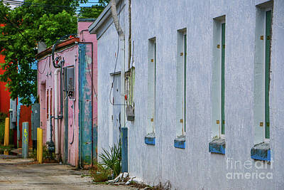 Photograph - Colorful Downtown Alley by Tom Claud