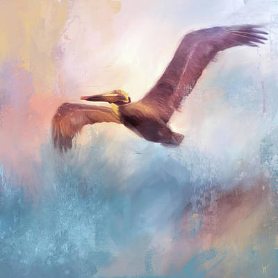 Painting - Colorful Flight by Jai Johnson