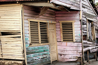 Photograph - Colorful House - Dominican Republic by Rick Veldman