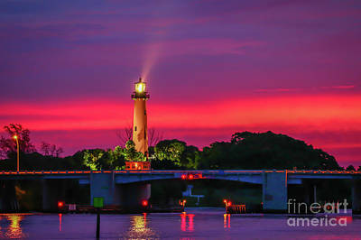 Photograph - Colorful Jupiter Light by Tom Claud