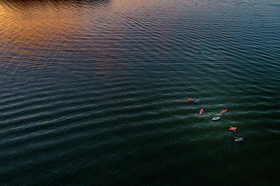 Photograph - Colorful Kayaks by Nick Smith